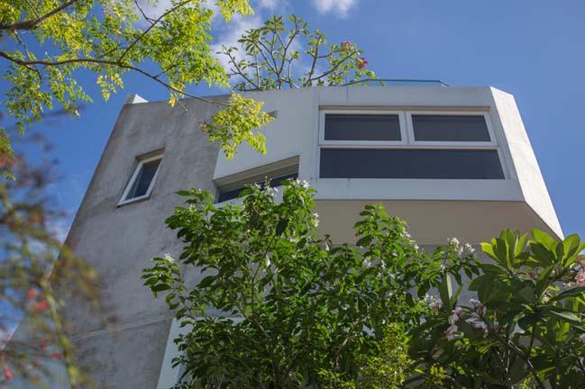 nha pho dep 02 Gợi ý thiết kế nhà phố đẹp tràn ngập không gian xanh và ánh sáng