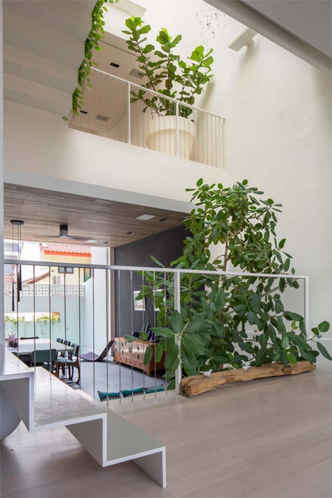 nha pho dep 04 Gợi ý thiết kế nhà phố đẹp tràn ngập không gian xanh và ánh sáng