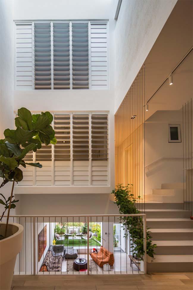 nha pho dep 09 Gợi ý thiết kế nhà phố đẹp tràn ngập không gian xanh và ánh sáng