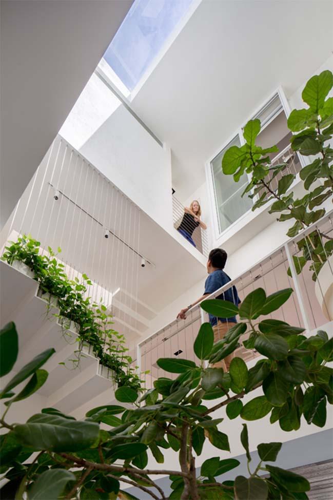 nha pho dep 10 Gợi ý thiết kế nhà phố đẹp tràn ngập không gian xanh và ánh sáng
