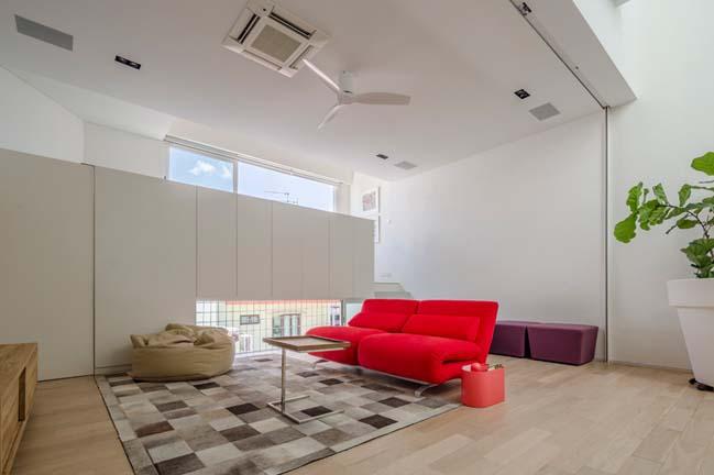 nha pho dep 11 Gợi ý thiết kế nhà phố đẹp tràn ngập không gian xanh và ánh sáng