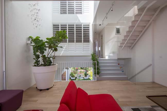 nha pho dep 12 Gợi ý thiết kế nhà phố đẹp tràn ngập không gian xanh và ánh sáng