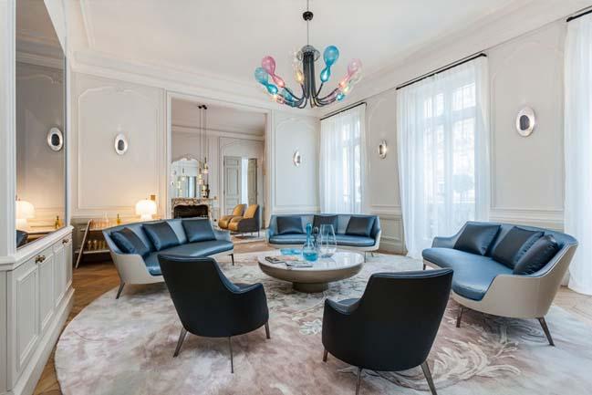 Căn hộ chung cư với nội thất đương đại