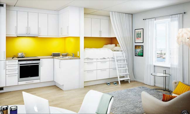 14 mẫu nhà bếp đẹp với tông màu vàng ấm áp
