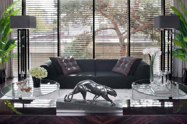 can ho penthouse 02 Chiêm ngắm mẫu nhà đẹp với tông màu tối cá tính