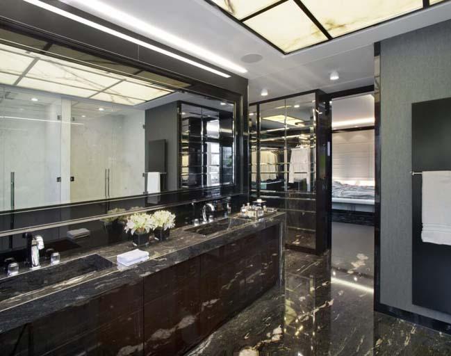 can ho penthouse 09 Chiêm ngắm mẫu nhà đẹp với tông màu tối cá tính