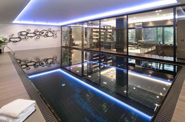 can ho penthouse 10 Chiêm ngắm mẫu nhà đẹp với tông màu tối cá tính