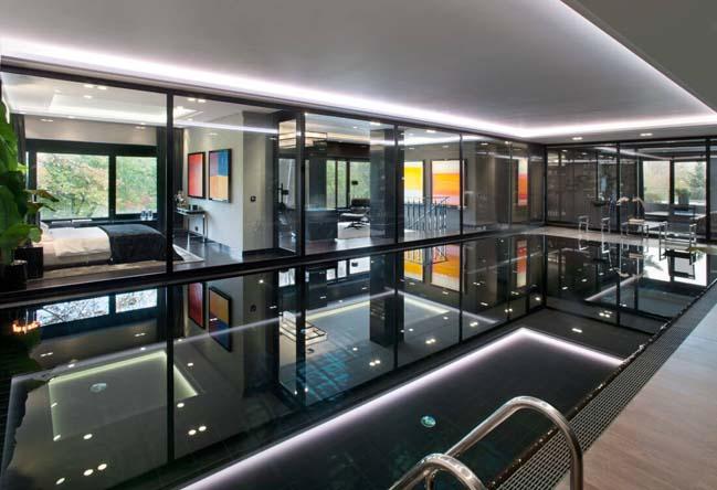 can ho penthouse 11 Chiêm ngắm mẫu nhà đẹp với tông màu tối cá tính