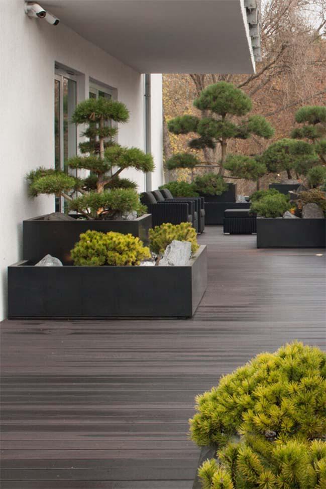 can ho penthouse 13 Chiêm ngắm mẫu nhà đẹp với tông màu tối cá tính