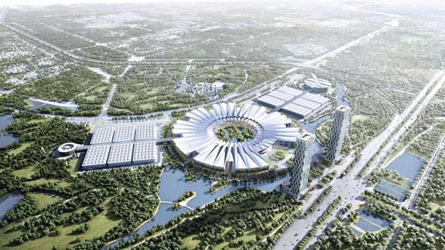 Kiến trúc đẹp của Trung tâm Thương mại tại Hà Nội