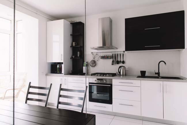 can ho chung cu 1 phong ngu 04 Thiết kế nội thất đơn giản tinh tế cho căn hộ 1 phòng ngủ