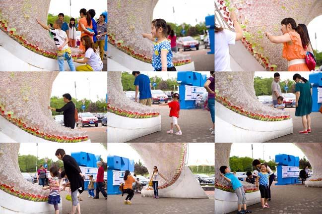 thiet ke kien truc 07 Kiệt tác thiết kế kiến trúc với hơn 17.000 chai nước ngọt