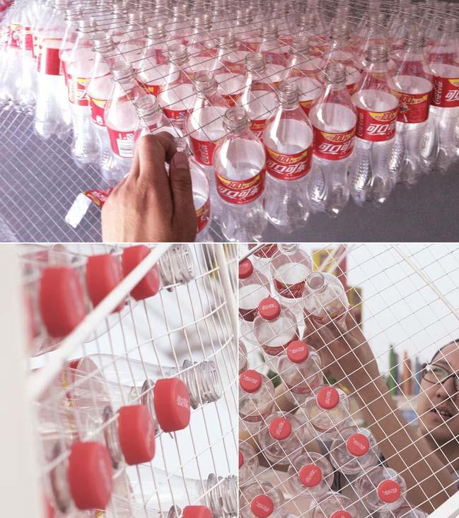thiet ke kien truc 13 Kiệt tác thiết kế kiến trúc với hơn 17.000 chai nước ngọt