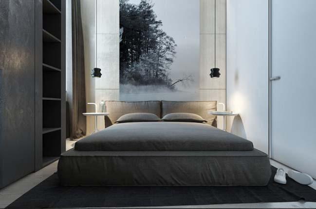 Thiết kế nội thất căn hộ chung cư nhỏ 47m2