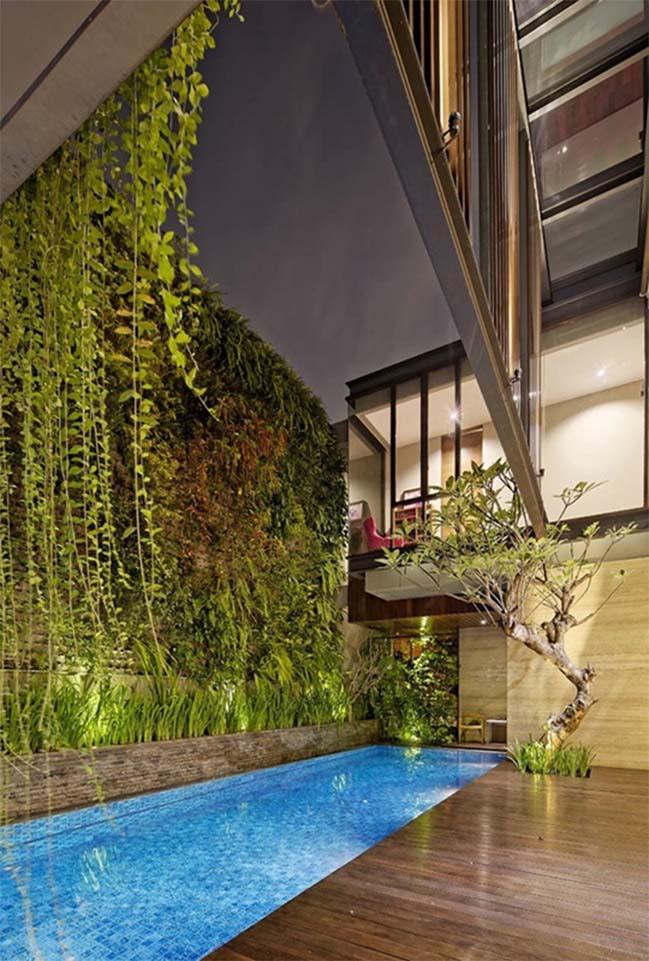 Thiết kế biệt thự 3 tầng với không gian xanh thư giãn
