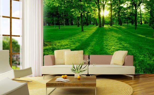18 mẫu phòng khách đẹp gần gũi với thiên nhiên