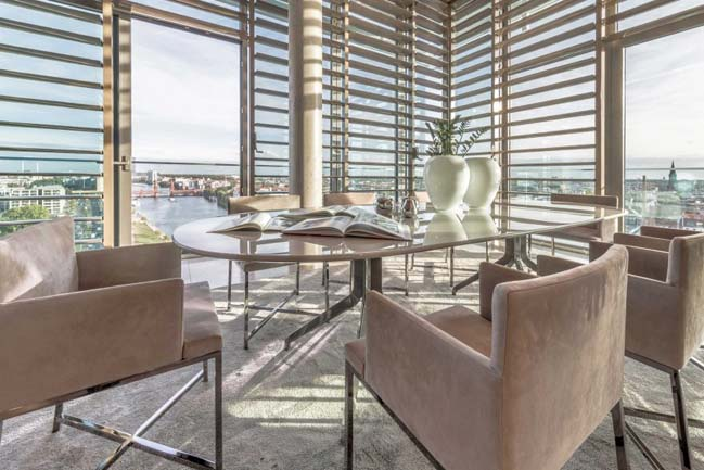 Căn hộ penthouse ngập tràn ánh nắng