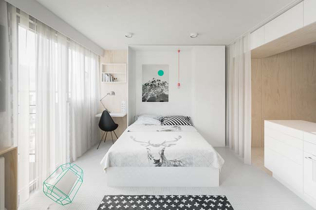 Biến căn hộ 20m2 thành ngôi nhà đẹp ngập tràn ánh sáng