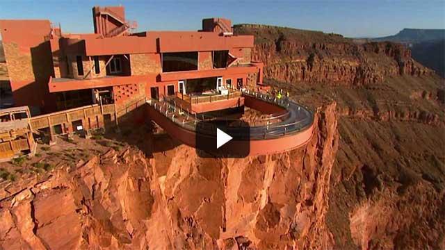 Grand Canyon Skywalk: Cầu đi bộ trên không tại Mỹ