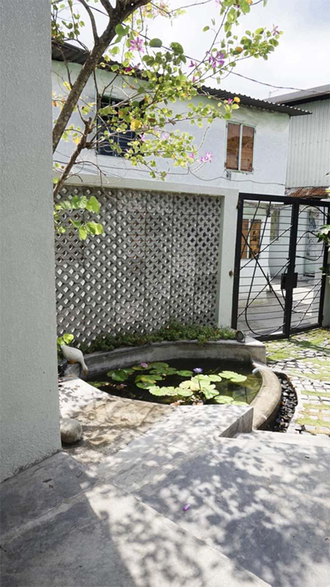 Ngôi nhà đẹp được cải tạo từ khu nhà trọ cũ