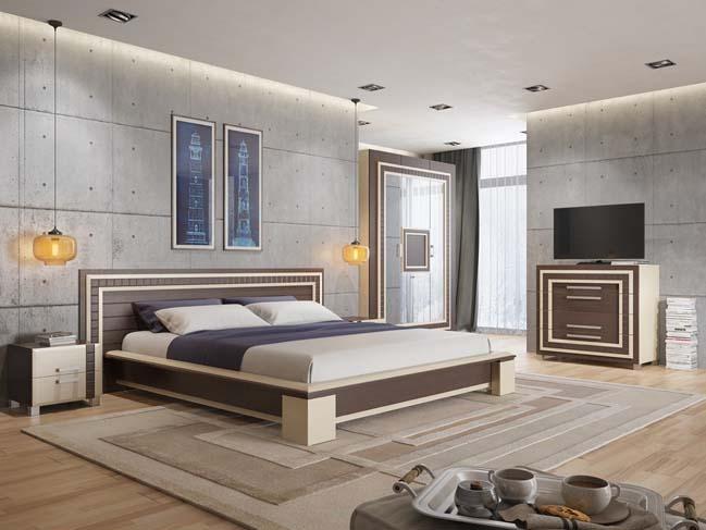 Tô điểm cho phòng ngủ với những bức tường phá cách