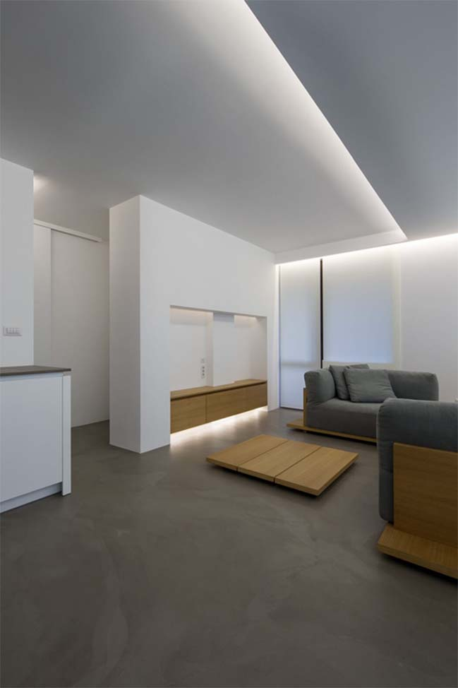 Thiết kế tối giản cho căn hộ chung cư 100m2