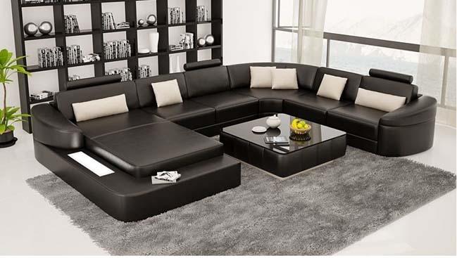 Tô điểm cho phòng khách đẹp với bộ ghế sofa phá cách