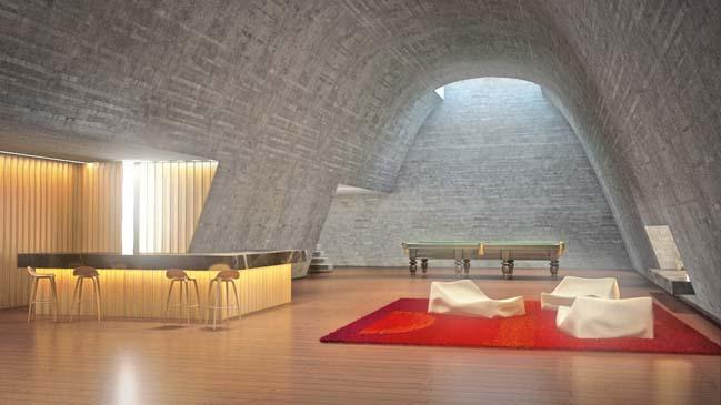 Thiết kế biệt thự đẹp với đá thạch anh trắng
