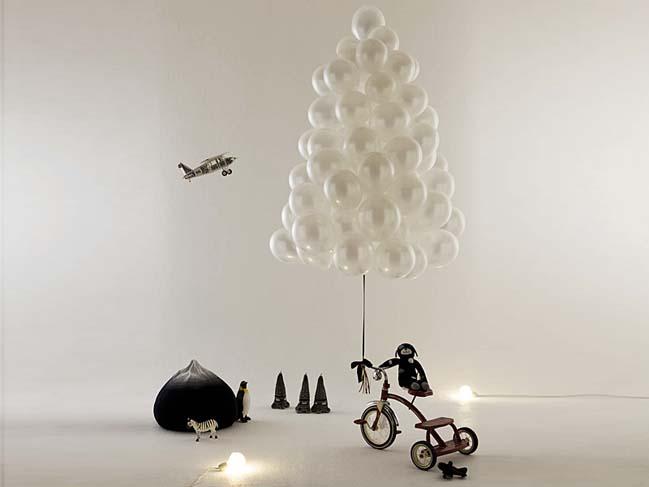 15 ý tưởng sáng tạo cho cây thông trong mùa Noel