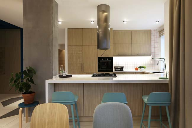 Thiết kế nhà đẹp 2 tầng với các vật liệu và tông màu tự nhiên