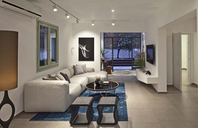 nha dep 01 Gợi ý thiết kế nhà đẹp với khoảng vườn xanh