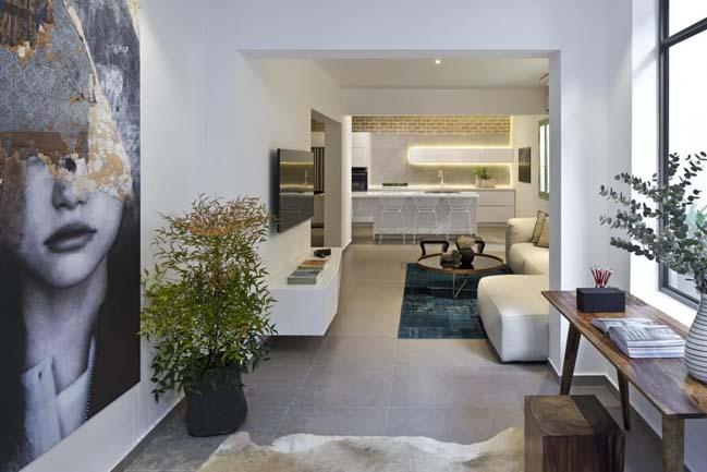 nha dep 03 Gợi ý thiết kế nhà đẹp với khoảng vườn xanh
