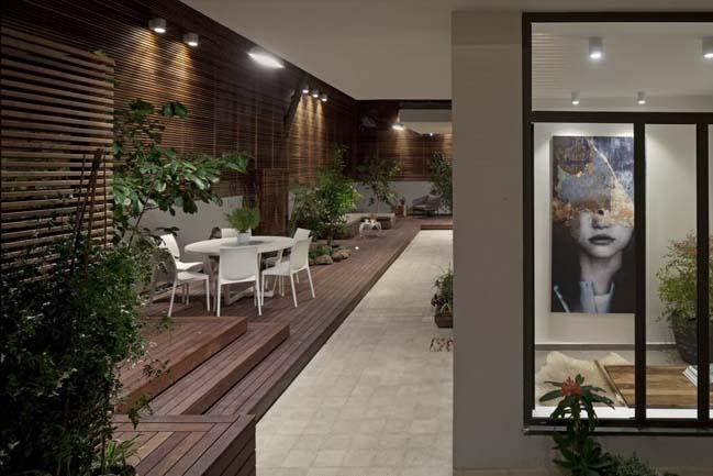nha dep 11 Gợi ý thiết kế nhà đẹp với khoảng vườn xanh