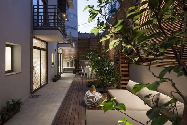 nha dep 13 Gợi ý thiết kế nhà đẹp với khoảng vườn xanh