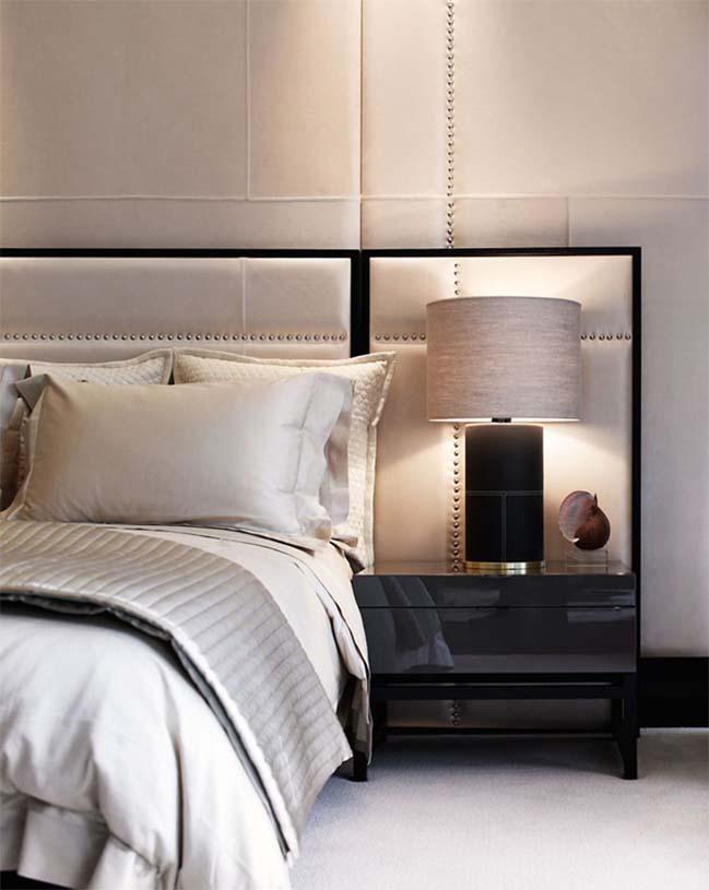 Những mẫu thiết kế hiện đại sang trọng cho phòng ngủ