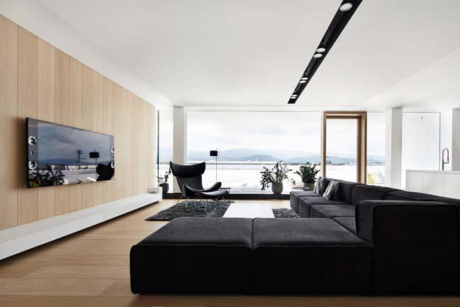 can ho penthouse 10 Bãi cát vàng trong căn hộ penthouse sang trọng với thiết kế đương đại