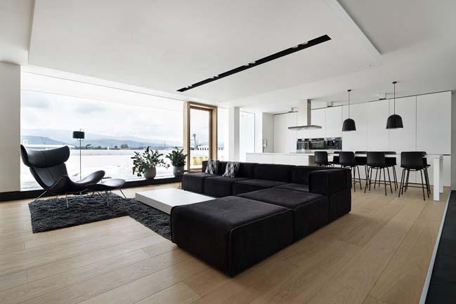 can ho penthouse 11 Bãi cát vàng trong căn hộ penthouse sang trọng với thiết kế đương đại