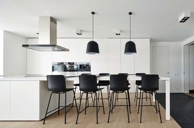can ho penthouse 12 Bãi cát vàng trong căn hộ penthouse sang trọng với thiết kế đương đại