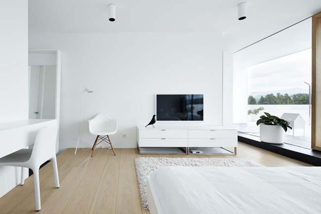 can ho penthouse 14 Bãi cát vàng trong căn hộ penthouse sang trọng với thiết kế đương đại