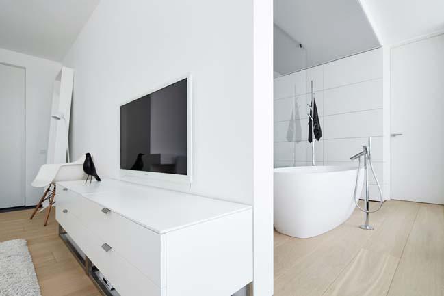 can ho penthouse 15 Bãi cát vàng trong căn hộ penthouse sang trọng với thiết kế đương đại
