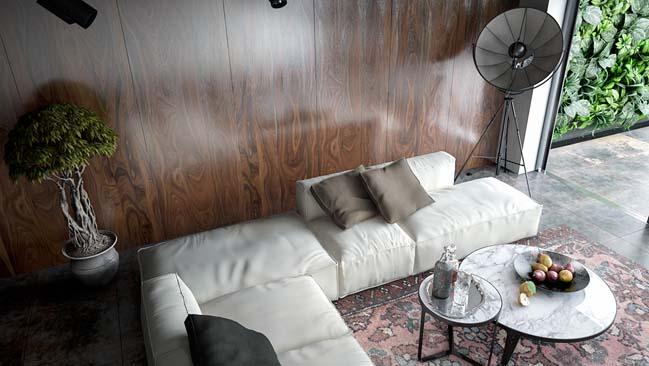 phong khach dep 05 Cùng nhìn qua 4 mẫu phòng khách đẹp với nội thất gỗ ấm áp