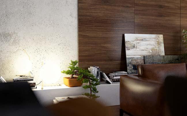 phong khach dep 08 Cùng nhìn qua 4 mẫu phòng khách đẹp với nội thất gỗ ấm áp