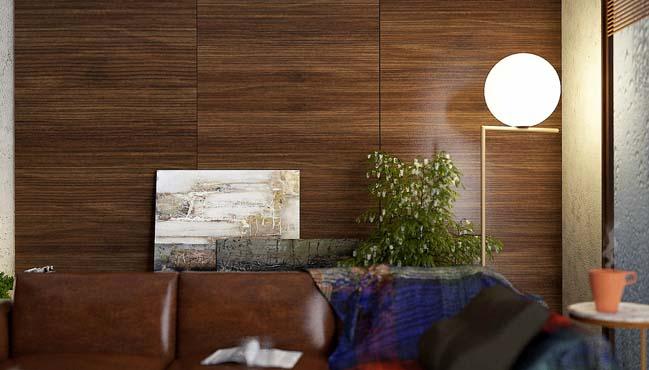 phong khach dep 09 Cùng nhìn qua 4 mẫu phòng khách đẹp với nội thất gỗ ấm áp
