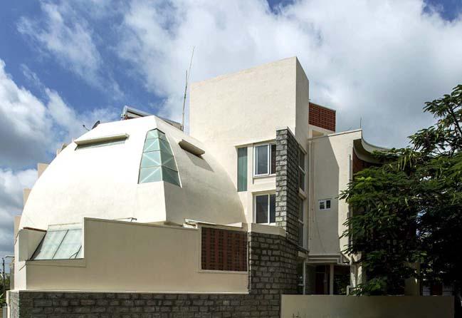 Thiết kế biệt thự 3 tầng tràn ngập hình ảnh thiên nhiên