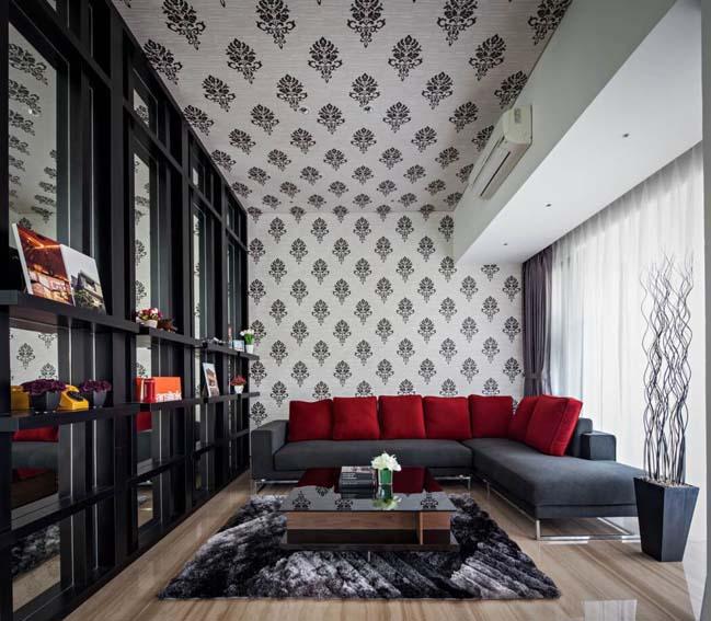 Thiết kế hiện đại cho biệt thự đẹp 3 tầng