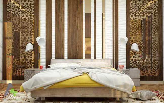 Thiết kế phòng ngủ đẹp lấy cảm hứng từ thiên nhiên