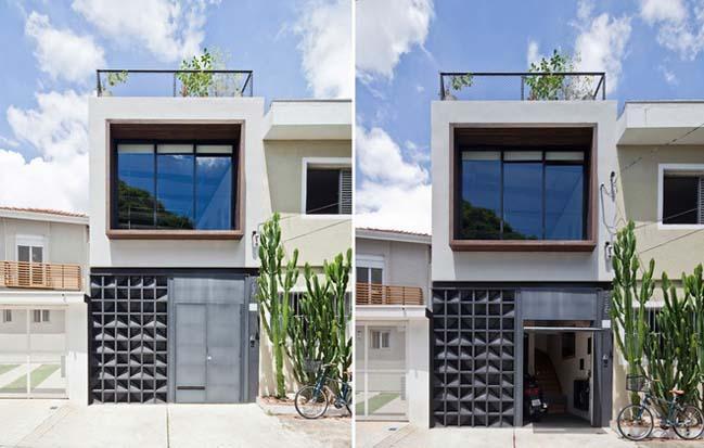 Thiết kế nhà phố đẹp có diện tích 50m2