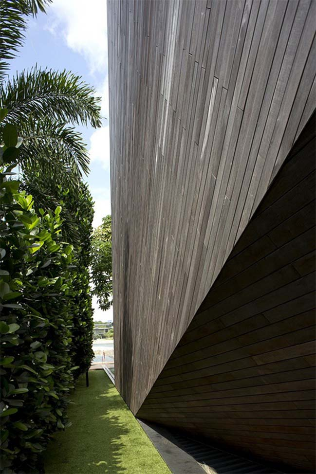 thiet ke nha dep 04 Gợi ý thiết kế nhà đẹp với kiến trúc kim cương độc đáo