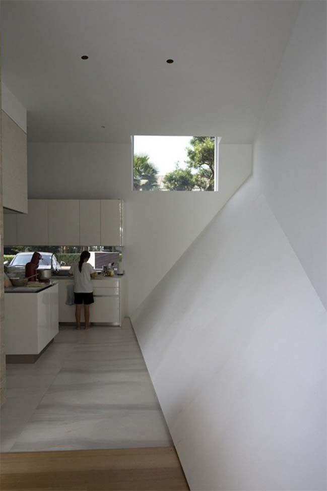 thiet ke nha dep 09 Gợi ý thiết kế nhà đẹp với kiến trúc kim cương độc đáo