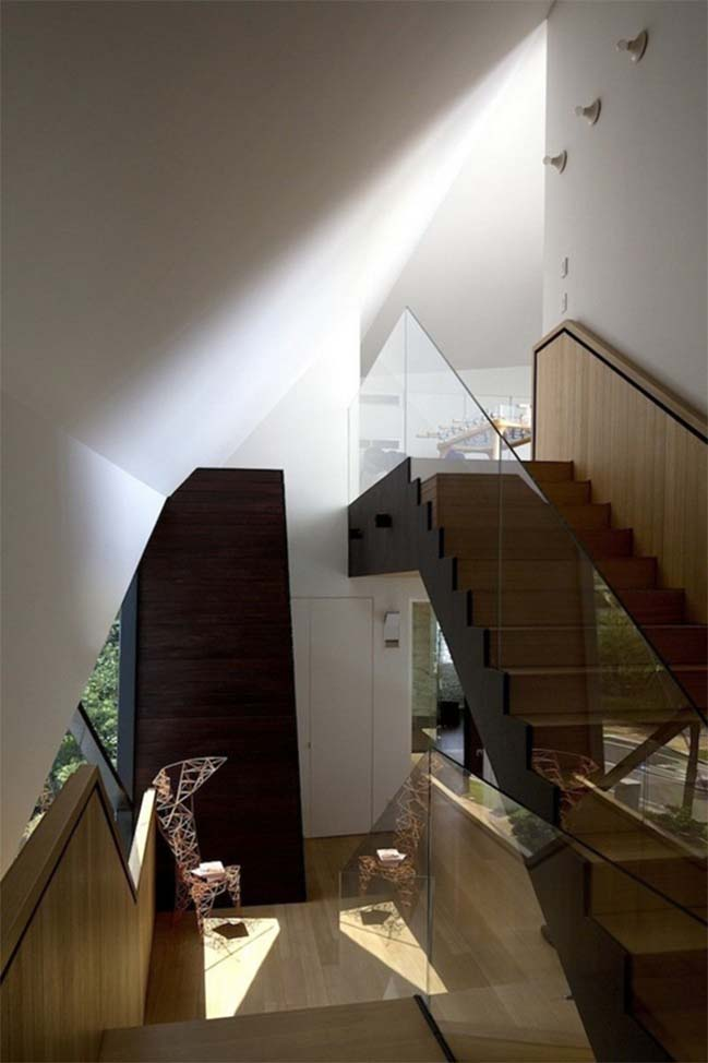 thiet ke nha dep 10 Gợi ý thiết kế nhà đẹp với kiến trúc kim cương độc đáo